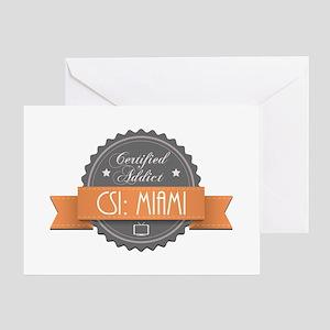 Certified Addict: CSI: Miami Greeting Card