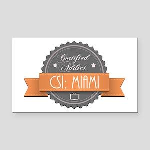 Certified Addict: CSI: Miami Rectangle Car Magnet