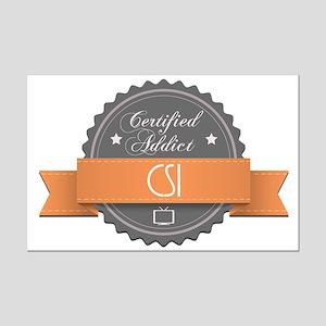 Certified Addict: CSI Mini Poster Print