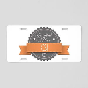 Certified Addict: CSI Aluminum License Plate