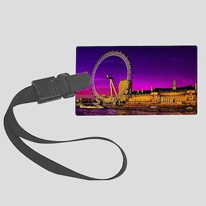 London Eye Large Luggage Tag