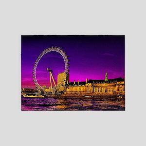 London Eye 5'x7'Area Rug