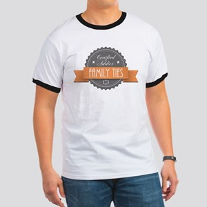 Certified Addict: Family Ties Ringer T-Shirt