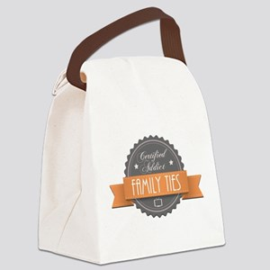 Certified Addict: Family Ties Canvas Lunch Bag
