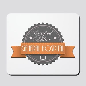 Certified Addict: General Hospital Mousepad