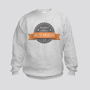 Certified Addict: Ghost Whisperer Kids Sweatshirt
