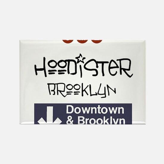 Hoodister Brooklyn Rectangle Magnet