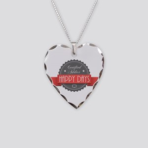 Certified Addict: Happy Days Necklace Heart Charm