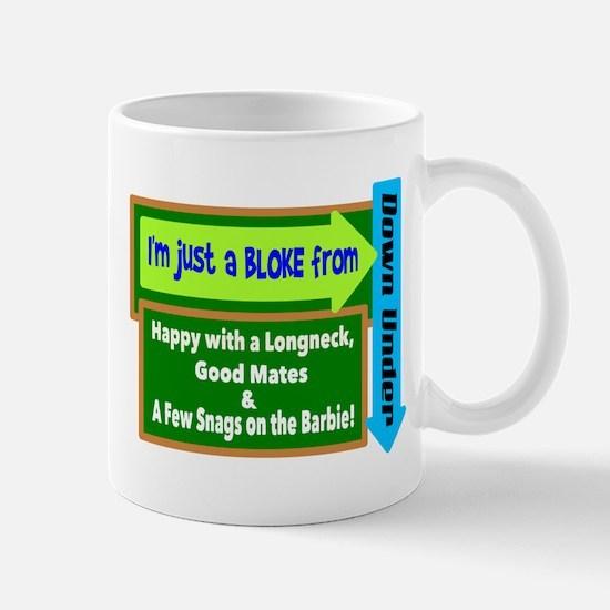 Bloke From Down Under Mugs