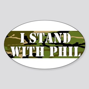 CAMO I Stand With Phil (robertson) Sticker