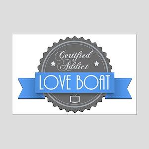 Certified Addict: Love Boat Mini Poster Print