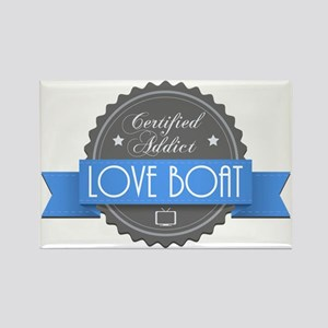 Certified Addict: Love Boat Rectangle Magnet