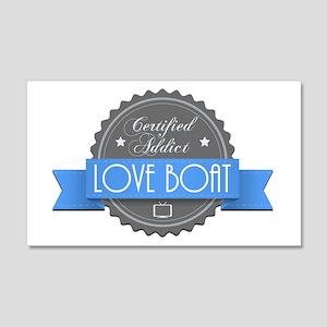 Certified Addict: Love Boat 22x14 Wall Peel