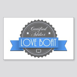 Certified Addict: Love Boat Rectangle Sticker