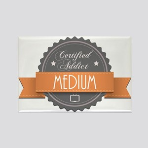Certified Addict: Medium Rectangle Magnet