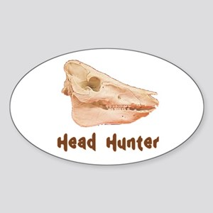 Pig Head Hunter Sticker