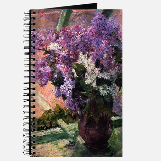 Lilacs in a Window by Mary Cassatt Journal
