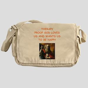 therapy Messenger Bag