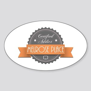 Certified Addict: Melrose Place Oval Sticker