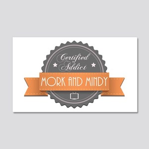 Certified Addict: Mork and Mindy 22x14 Wall Peel