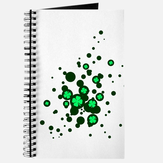 4 leaf clover bubbles Journal