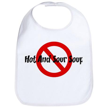Anti Hot And Sour Soup Bib
