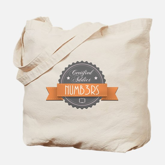 Certified Addict: Numb3rs Tote Bag
