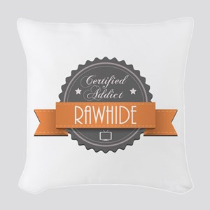 Certified Addict: Rawhide Woven Throw Pillow