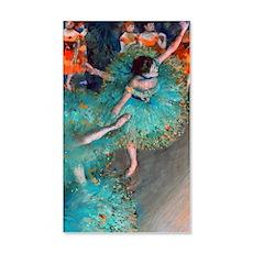 The Green Dancer by Edgar Degas Wall Sticker