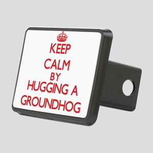 Keep calm by hugging a Groundhog Hitch Cover