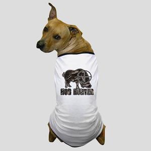 Riveted Metal Feral Hog Hunter Dog T-Shirt