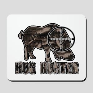 Riveted Metal Feral Hog Hunter Mousepad
