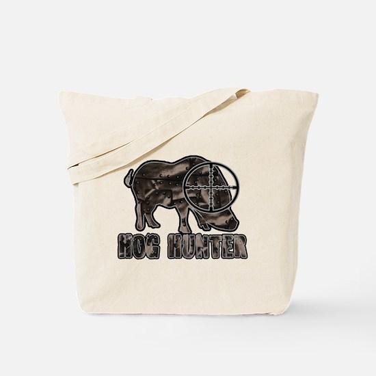 Riveted Metal Feral Hog Hunter Tote Bag