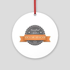 Certified Addict: Schoolhouse Rock! Round Ornament