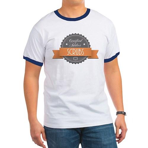 Certified Addict: Scrubs Ringer T-Shirt