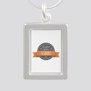 Certified Addict: Scrubs Silver Portrait Necklace
