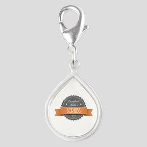 Certified Addict: Scrubs Silver Teardrop Charm