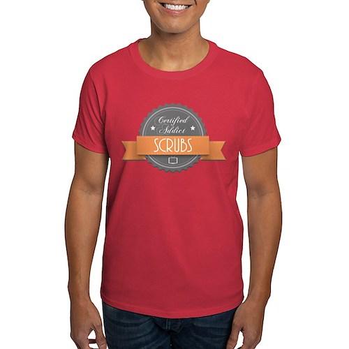 Certified Addict: Scrubs Dark T-Shirt