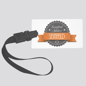 Certified Addict: Seinfeld Large Luggage Tag
