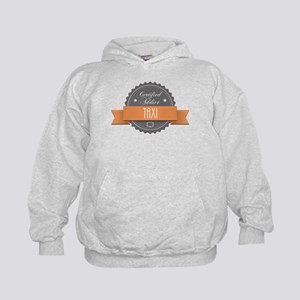 Certified Addict: Taxi Kid's Hoodie