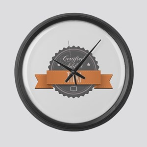 Certified Addict: Taxi Large Wall Clock