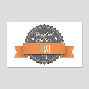 Certified Addict: Taxi 22x14 Wall Peel