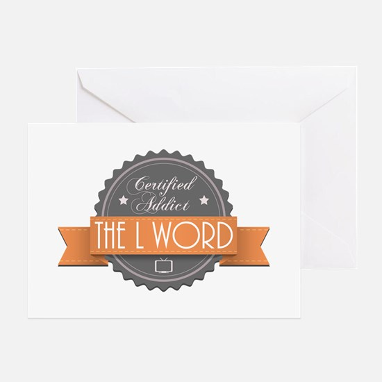 Certified Addict: The L Word Greeting Card
