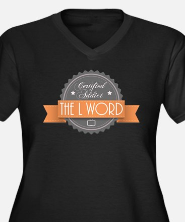 Certified Addict: The L Word Women's Dark Plus Siz