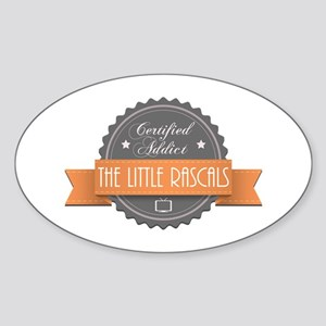 Certified Addict: The Little Rascals Oval Sticker