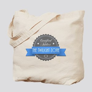 Certified Addict: The Twilight Zone Tote Bag