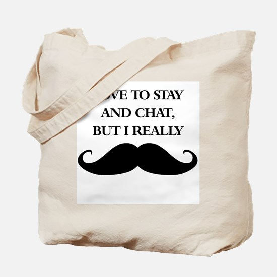 I Really Mustache Tote Bag