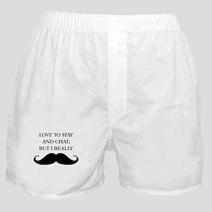 I Really Mustache Boxer Shorts