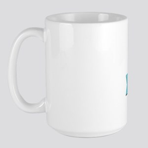 Certified Addict: Touched by an Angel Large Mug