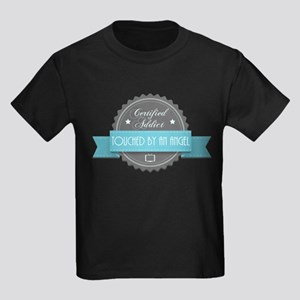Certified Addict: Touched by an Angel Kids Dark T-
